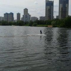 Photo taken at Траектория Wake Park by Михаил К. on 5/22/2012
