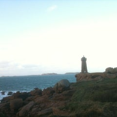 Photo taken at Phare de Ploumanac'h by Olivier C. on 12/28/2011