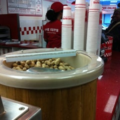 Photo taken at Five Guys by Frank  V. on 12/23/2010