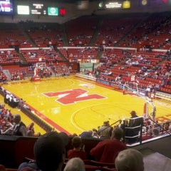 Photo taken at Bob Devaney Sports Center by Kelli B. on 12/8/2011