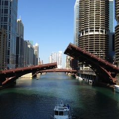 Photo taken at Chicago Riverwalk by Matthew K. on 6/10/2012