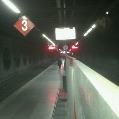 Photo taken at RENFE El Clot-Aragó by Valentina L. on 1/12/2012