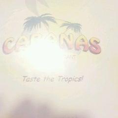 Photo taken at Cabanas Island Restaurant by Bob L. on 10/13/2011