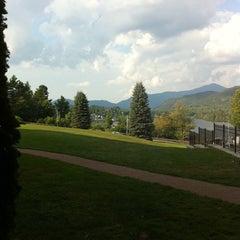 Photo taken at Crowne Plaza Resort Lake Placid-Golf Club by Phyllis S. on 8/18/2011
