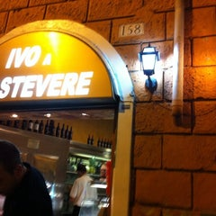 Photo taken at Ivo a Trastevere by Alistair P. on 9/15/2011