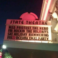 Photo taken at State Theatre by Lizzy M. on 12/15/2011