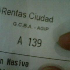 Photo taken at AGIP (Rentas GCBA) by Mau on 1/25/2012