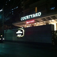 Photo taken at Courtyard by Marriott Bangkok by Su S. on 5/18/2012