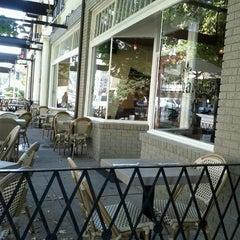 Photo taken at Café Bernardo Midtown by Diana N. on 10/7/2011