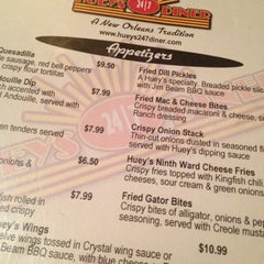Photo taken at Huey's 24/7 Diner by Mike P. on 4/18/2012