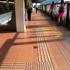 Photo taken at Bukit Gombak MRT Station (NS3) by Kyren E. on 8/16/2011