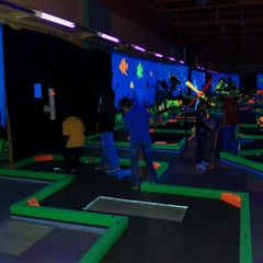 Photo taken at GLOWGOLF by Christine K. on 1/6/2012