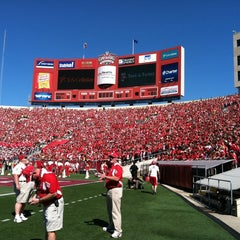 Photo taken at Camp Randall Stadium by UWBadgers on 9/10/2011
