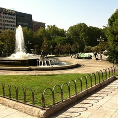 Photo taken at Plaza de España by César C. on 9/8/2012