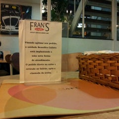 Photo taken at Fran's Café by Roberto B. on 10/5/2011