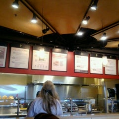 Photo taken at Qdoba Mexican Grill by David O. on 8/19/2012