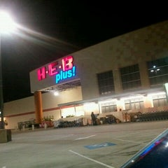 Photo taken at H-E-B plus! by Tina C. on 9/25/2011