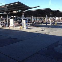 Photo taken at Autobusová stanica Nitra by The_Rybka &. on 3/15/2012