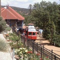 Photo taken at Pikes Peak Cog Railway by askmehfirst on 9/9/2011