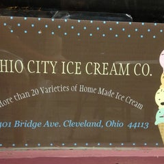 Photo taken at Ohio City Ice Cream by Allen H. on 5/28/2012