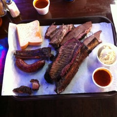 Photo taken at Louie Mueller Barbecue by Todd S. on 3/14/2012