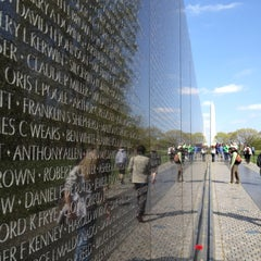 Photo taken at Vietnam Veterans Memorial by Jeff H. on 4/1/2012