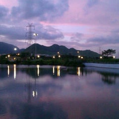 Photo taken at Central Park Kharghar by Prateek F. on 9/2/2012