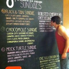 Photo taken at Jeni's Splendid Ice Creams by Lauren B. on 5/27/2012