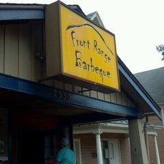 Photo taken at Front Range BBQ by Sarah M. on 8/15/2012