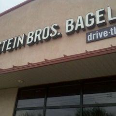 Photo taken at Einstein Bros Bagels by Tim H. on 8/3/2011