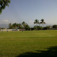 Photo taken at Canchas ejidal las juntas by Chuy M. on 11/12/2011