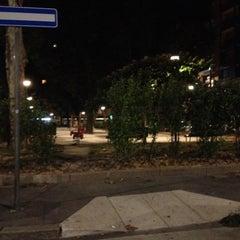 Photo taken at Parco Giochi - Largo Tel Aviv by Alessandro G. on 8/29/2012
