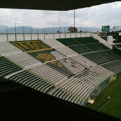 Photo taken at Estadio León by Alejandro S. on 8/23/2012