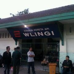 Photo taken at Stasiun Wlingi by Rezza H. on 9/23/2011