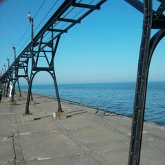 Photo taken at Grand Haven State Park by Dani G. on 10/9/2011