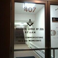 Photo taken at Wayzata Masonic Lodge #205 by Jill G. on 10/2/2011