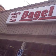 Photo taken at Bagel Factory by Matt K. on 8/4/2011