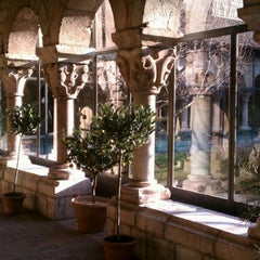 Photo taken at The Cloisters by Amy C. on 1/7/2012