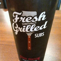 Photo taken at Penn Station East Coast Subs by Manolo L. on 4/1/2012