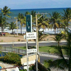 Photo taken at Mar Brasil Hotel Salvador by Alexandre O. on 8/30/2012