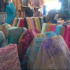 Photo taken at Unitex Textile by nia o. on 5/9/2012