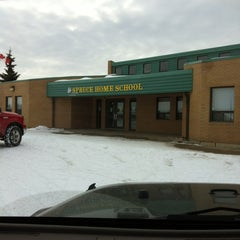 Photo taken at Spruce Home School by Gail M. on 3/5/2012
