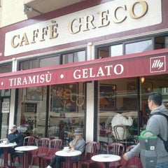 Photo taken at Caffé Greco by Gabriella S. on 4/15/2012