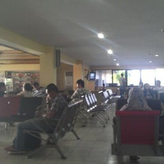 Photo taken at Supadio International Airport (PNK) by Lim Y. on 5/20/2012