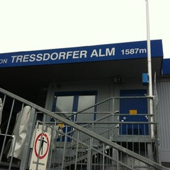 Photo taken at Station Tressdorfer Alm by Corina H. on 4/15/2012