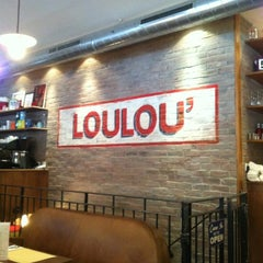 Photo taken at Loulou' Friendly Diner by Pierre L. on 5/6/2012