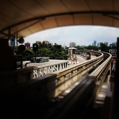 Photo taken at RapidKL Imbi (MR5) Monorail Station by Jay K. on 4/28/2012
