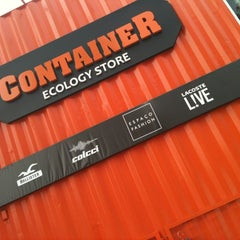 Photo taken at Container Ecology Store by Rodrigo B. on 5/22/2012