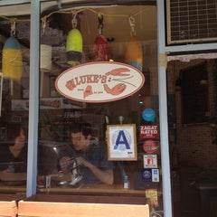 Photo taken at Luke's Lobster EV by leon s. on 4/2/2012