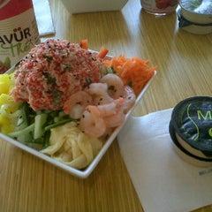 Photo taken at Sushi Shop by Chris B. on 3/21/2012